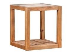 Tavolino fatto a mano quadrato in legno masselloTEA TIME | Tavolino quadrato - ARREDIORG