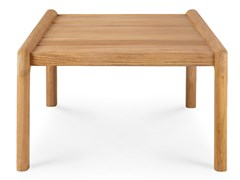 Tavolino basso da giardino quadrato in teakTEAK JACK | Tavolino quadrato - ETHNICRAFT