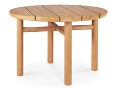 Tavolino alto rotondo in teakTEAK QUATRO OUTDOOR | Tavolino alto - ETHNICRAFT