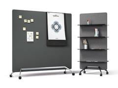Pannello divisorio / lavagna per ufficioTEAM | Lavagna per ufficio - BRUNNER