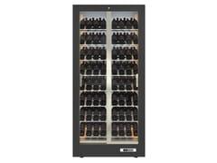 Cantinetta frigo per vini in alluminio con cornice in MDFTECA 12 - EXPO