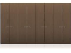 Armadio componibile in legnoTECNO MATT | Armadio in legno - MISURAEMME
