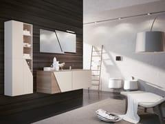 Mobile lavabo sospeso con specchioTEKNO 10 - BMT