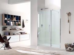 Box doccia a nicchia in vetro con porta a battente TEKNOAIR - 3 - Teknoair