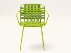 Sedia in fibra sintetica con braccioliTELAR | Sedia con braccioli - PAOLA LENTI