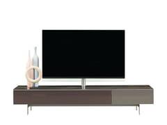 Mobile TV basso in melamina con cassettiTEMPO - ROCHE BOBOIS