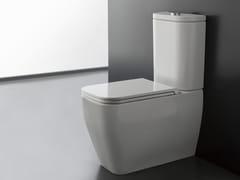 Wc monoblocco in ceramica a pavimentoTEOREMA 2.0 | Wc monoblocco - SCARABEO CERAMICHE