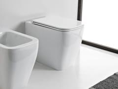 Wc in ceramica a pavimentoTEOREMA 2.0 | Wc - SCARABEO CERAMICHE