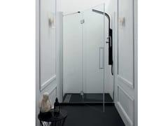 Box doccia a nicchia con porta a battenteTEPB43 | Box doccia a nicchia - TAMANACO