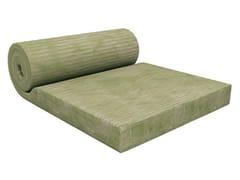 Pannello termoisolante / pannello fonoisolante e fonoassorbente in lana di vetroTERMOLAN® GREEN 32 N ROLL - TERMOLAN