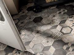 Pavimento/rivestimento in gres porcellanato a tutta massaTERRA - ANTRACITE - CERAMICHE MARCA CORONA
