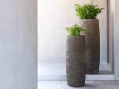 Vaso da giardino alto in metalloTERRA | Vaso da giardino alto - JARDINICO