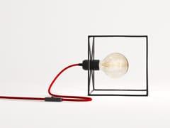 LAMPADA DA TAVOLO IN FERROTERRA | LAMPADA DA TAVOLO IN FERRO - BIGDESIGN