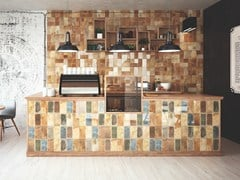 Indoor flooring & Wall tiles withterracotta effect