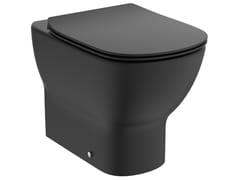 Wc filo pareteTESI MATT BLACK - T3536V3 - IDEAL STANDARD ITALIA