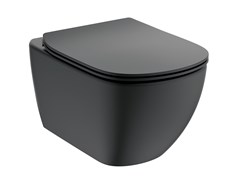 Wc sospesoTESI MATT BLACK - T3546V3 - IDEAL STANDARD ITALIA
