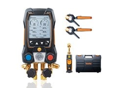 Testo, TESTO 557s Manifold digitale smart con sonde termometriche