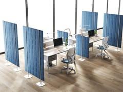 Divisorio ufficio fonoassorbente freestandingTETRIX | Divisorio ufficio freestanding - CENTRUFFICIO