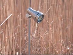 Proiettore per esterno ad altezza regolabile in acciaio inox TEX - Tex