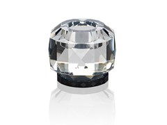 Portacandele in cristallo TEXAS - CLEAR / BLACK -