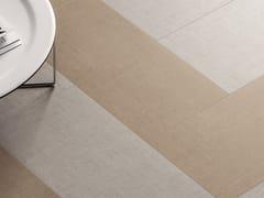 Pavimento/rivestimento in gres porcellanato effetto tessutoTEXTILE EXTRA SAND - CERAMICHE MARCA CORONA