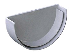 Accessorio per canale di gronda in PVC TGS100GN - First Plast