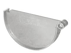 Accessorio per canale di gronda in PVC TGS125N - First Plast