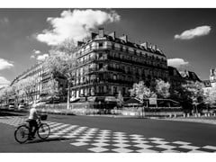Stampa fotograficaTHE BIKE OF SAINT GERMAN DES PRES - ARTPHOTOLIMITED