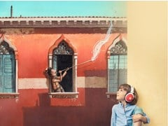 Carta da parati panoramica in JET TEX per bambiniTHE BLOWER OF DREAMS - ACTE DECO