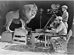 Stampa fotografica THE LION OF METRO GOLDWYN MAYER - ARTPHOTOLIMITED