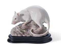 Soprammobile in porcellanaTHE RAT - LLADRÓ