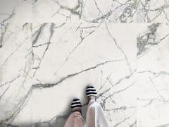 Imola, THE ROOM - INV WH Pavimento/rivestimento in gres porcellanato effetto marmo