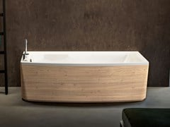Vasca da bagno idromassaggio rettangolare in acrilicoTHEA | Vasca da bagno rettangolare - ALBATROS