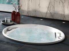Vasca da bagno idromassaggio rotonda da incassoTHEA ROUND - ALBATROS