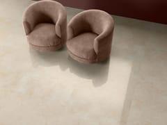 Pavimento/rivestimento in gres porcellanato effetto marmo THEMAR CREMA MARFIL - Themar