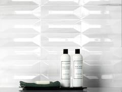 Rivestimento tridimensionale in ceramica a pasta bianca THEMAR WALL CULT BIANCO LASA - Themar