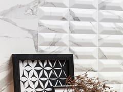 Rivestimento tridimensionale in ceramica a pasta bianca THEMAR WALL CULT STATUARIO VENATO - Themar
