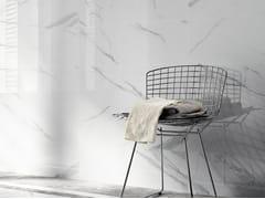Rivestimento in ceramica a pasta bianca effetto marmo THEMAR WALL STATUARIO VENATO - Themar