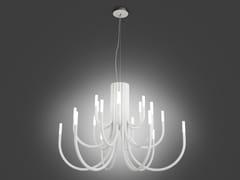 Lampadario a LED in ferroTHEPALM 5190/18 - ALMA LIGHT