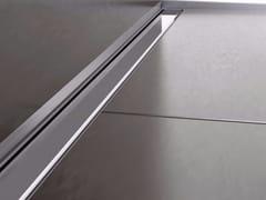 Scarico per doccia in acciaio inox THIN DRAIN CLASSIC COVER - Thin Drain