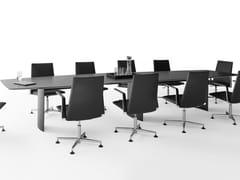 Tavolo da riunione rettangolare.TIME AIR | Tavolo da riunione - SPIEGELS