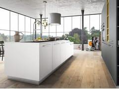 Cucina componibile laccata con isolaTIME | Cucina con isola - ARREDO 3