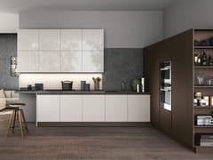 Cucina componibile laccata lineareTIME | Cucina lineare - ARREDO 3