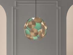 Lampada a sospensione a LED in metallo verniciatoTIMEO S1 50 - MASIERO