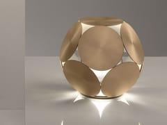 Lampada da tavolo a LED in metallo verniciatoTIMEO TL - MASIERO