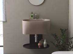 Lavabo ovale singolo in ceramica con troppopienoTINA | Lavabo - COLAVENE