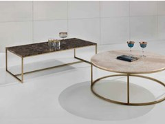 Tavolino rettangolare in marmo TIP TAP   Tavolino rettangolare - Objects