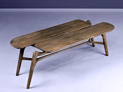 Tavolino rettangolare in legno masselloTISA | Tavolino - HOOKL UND STOOL