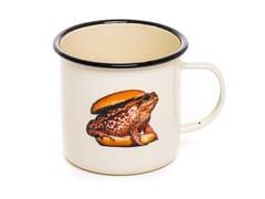 Mug in metallo smaltatoTOAD | Mug - SELETTI