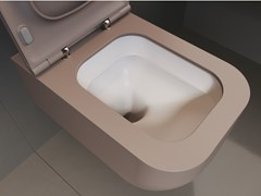 Wc sospeso in Solid Surface REVOLUTION® | Wc - SDR CERAMICHE
